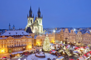 Най-красивите коледни базари на Европа - Прага и Дрезден